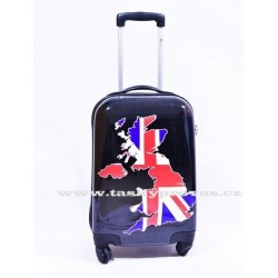 Cestovní kufr Airtex 2064 65 černý