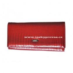 Peněženka dámská kožená Loren 72401-RS red