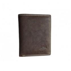Pánská kožená peněženka Lagen 614785 hnědá