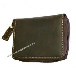 Kožené pouzdro na kreditní karty nebo vizitky DD 132703 hnědé