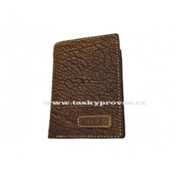 Pánská kožená peněženka Lagen LM-8315/W hnědá