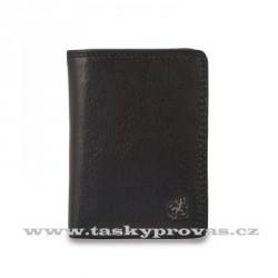 Kožené pouzdro na vizitky nebo kreditní karty Cosset Komodo 4410 černá
