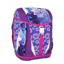 Školní dívčí batoh Bagmaster POLO 6 A fialová/růžová/jednorožec