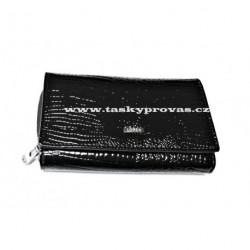 Peněženka dámská kožená Loren WL02-S black