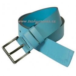 Kožený pásek Black 103-05 sv.modrý