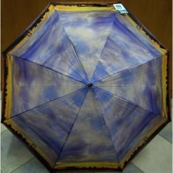 Deštník holový automat Perletti 25755 modro-žlutý