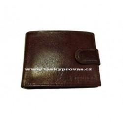 Pánská kožená peněženka Bellugio AM-04-032 hnědá