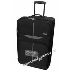 Cestovní kufr Airtex Worldline 521 50 černá/šedá