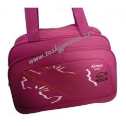 Cestovní taška Airtex 2351 tm.růžová