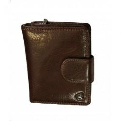 Dámská kožená luxusní peněženka Cosset 4498 Komodo hnědá