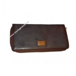 Dámská kožená peněženka DD EL 600 cognac