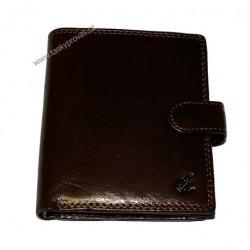 Peněženka kožená Cosset 4408 Komodo hnědá