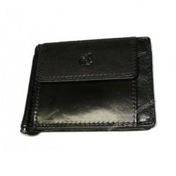 Kožená peněženka dolarka Cosset Komodo 4497 černá
