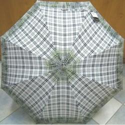 Deštník holový dámský vystřelovací Perletti 21150 zelený
