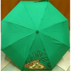 Deštník skládací The Simpsons 656 zelený/ žlutý obr.