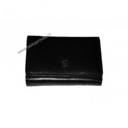 Peněženka dámská kožená Cosset 4499 Komodo černá