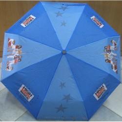 Deštník dětský skládací Perletti High School Musical modrý