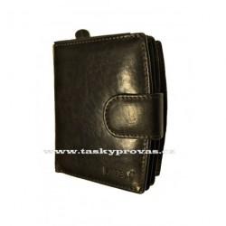 Kožená peněženka dámská Lagen 3807/T tm.hnědá