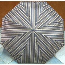 Deštník skládací 3060 proužky