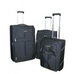 Cestovní kufry Airtex 9105 set 3ks černá