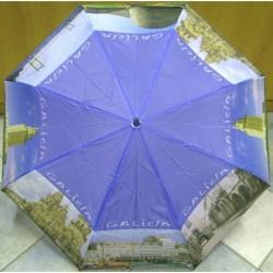 Deštník skládací odlehčený GALICIA 5950