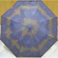Deštník skládací Perletti 256381 modrá/barvy