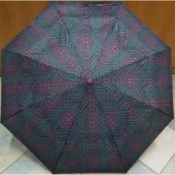 Deštník skládací Perletti 256382 fialová/barvy