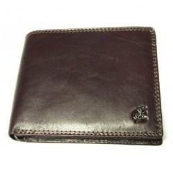 Peněženka pánská kožená Cosset Komodo 4465 tm.hnědá