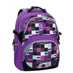 Dívčí školní batoh Bagmaster THEORY 6 A VIOLET (fialová)