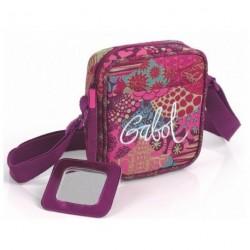 Dětská taštička (kabelka) Gabol POP 217682 převládající tm. růžová/vzor