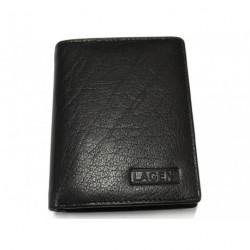 Pánská kožená peněženka malá Lagen 02310004 černá