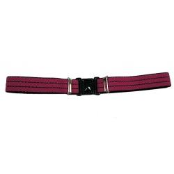 Dětský elastický opasek Xandy 1103 růžovo-černý