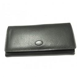 Peněženka dámská kožená Balle 7045 černá