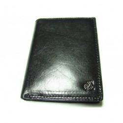 Peněženka pánská kožená Cosset 4472 KOMODO černá