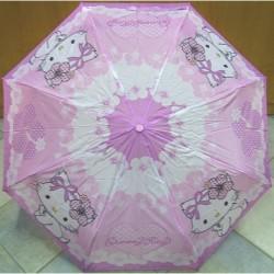 Deštník dětský skládací Perletti Charmmy Kitty 50357 fialový