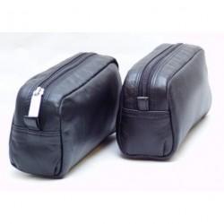 Dámská kožená etue Arwel 611-0395 černá