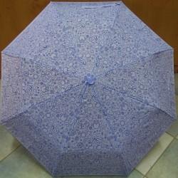 Deštník skládací Blue Drop A858DC sv.modrý s obrázky