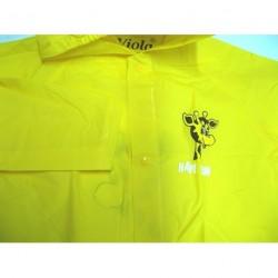 Pláštěnka dětská Viola vel.120 žlutá/ žirafa