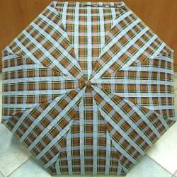 Skládací unisex deštník plně automatický Blue Drop A834DC