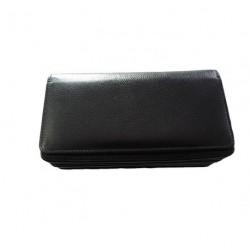 Kožená černá kasírka Krol 24011
