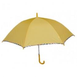 Deštník holový vystřelovací 420008 žlutý
