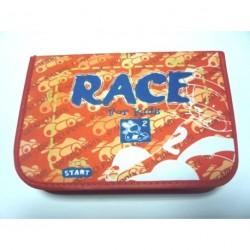 Školní penál Herlitz race 10310704 barva : oranžová