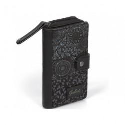 Dámská peněženka Gabol NINA 522715 černá/vzor
