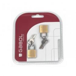 Gabol 800001 zámeček na kufr 2ks + 6 klíčů