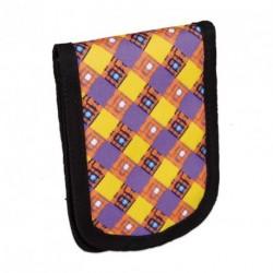 Kapsička na krk Topgal - CHI 668 I Violet (fialová/žlutá/oranž./černá)