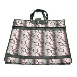 Nákupní taška KŠK vz. 208 šedá/růžová