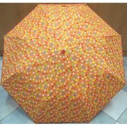 Deštník skládací automat Blue Drop A864DC oranžový
