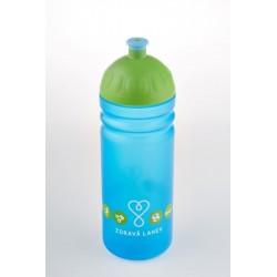 Zdravá lahev  0,7 l Logo 2014 modrá/zelená