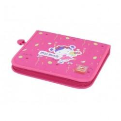 Školní penál Bagmaster CASE 02A pink
