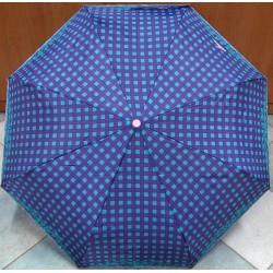 Skládací dámský deštník Charro Perletti 18240 tyrkys